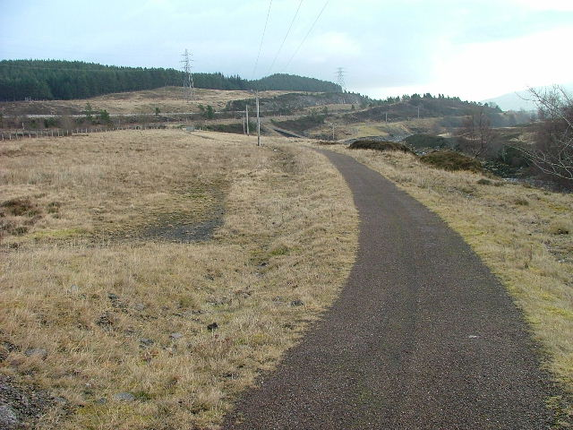 Cycleway by the A9