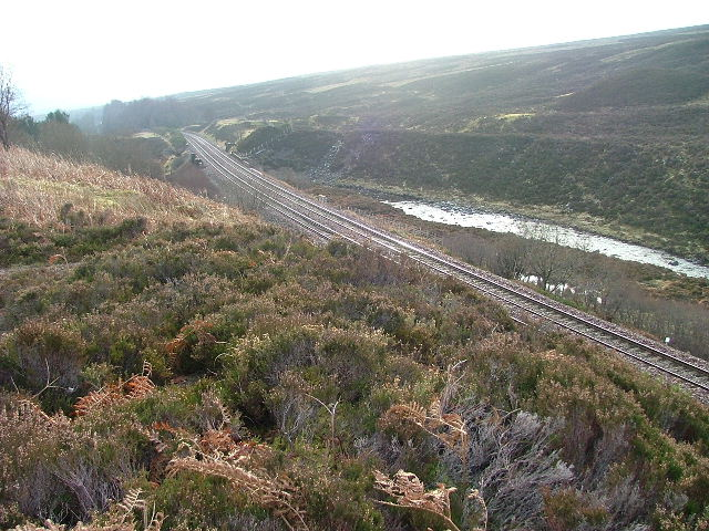 Inverness to Perth Railway Line
