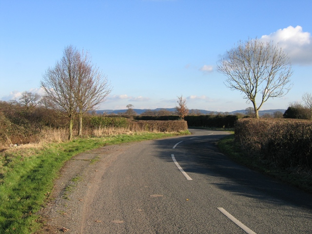 'S' Bend in Edgerley Lane