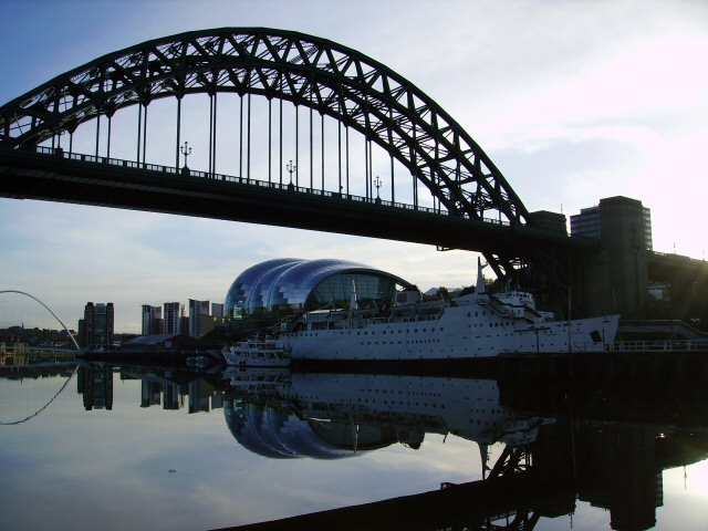 Tyne Bridge and skyline