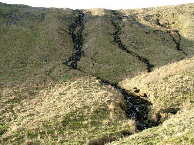 Waterfall off Murton Fell into Scordale