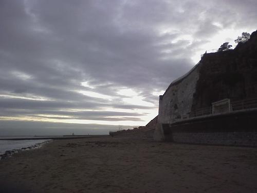 Cliffs near Dumpton Gap