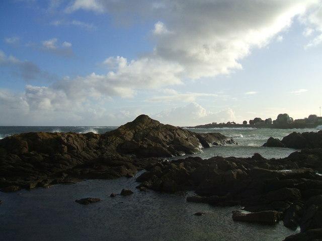 biggest rock at North Head