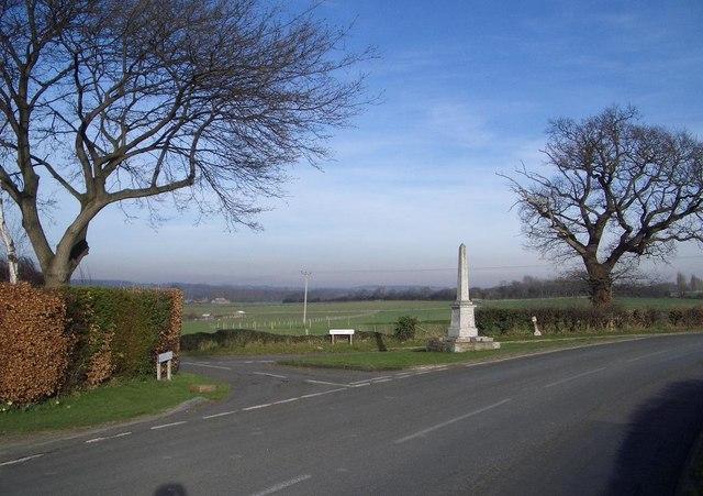The War Memorial at Felmersham Village