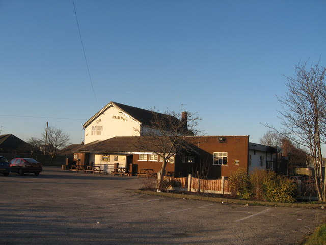 Cock and Trumpet Public House, Halebank