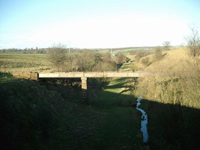 Disused railway near Cumnock