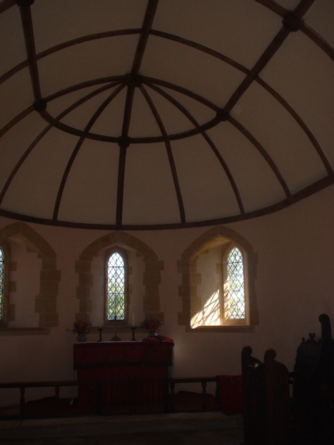 Interior of Langham Church (Thatched)