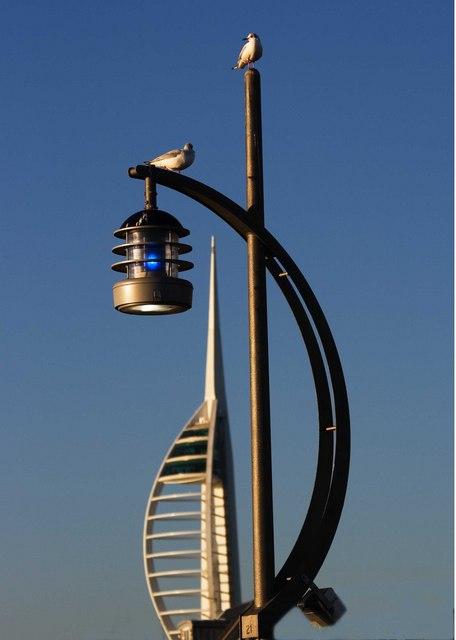 Spinnaker Tower again
