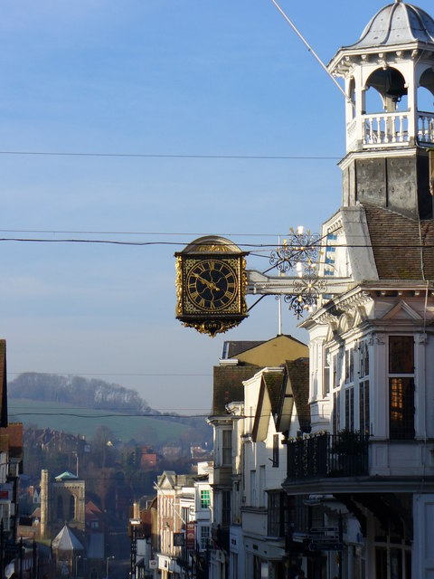 Guildford Guildhall and Clock