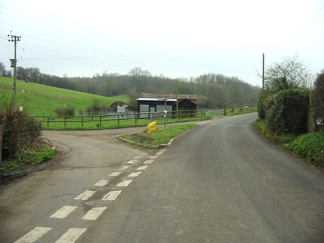 Junction near Wheelbarrow Town