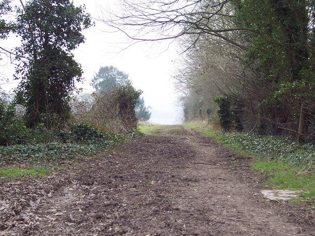 Bridleway at Four Gates