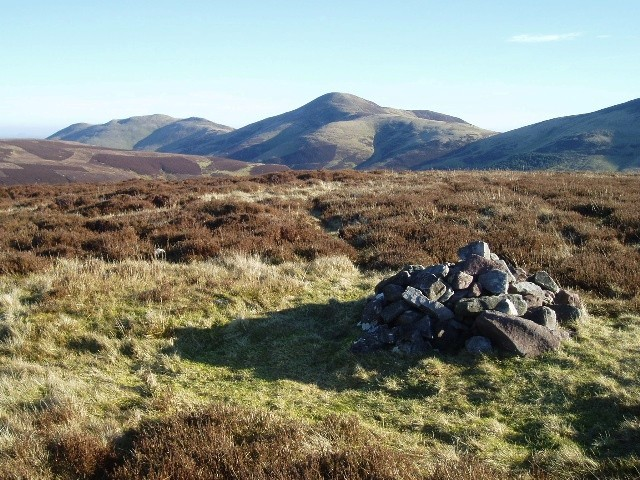 Cairn on Hare Hill