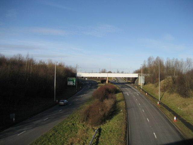 Railway Bridge over the A19