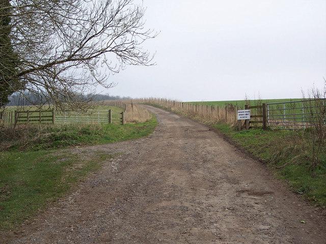 Footpath to Privett Farm