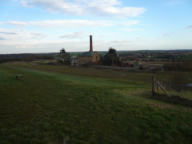 Pleasley Colliery View