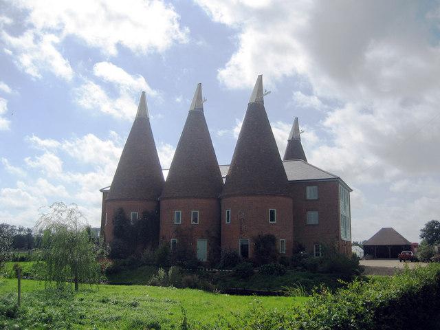 Eplhicks Farmhouse (Goldings), Water Lane, Hunton