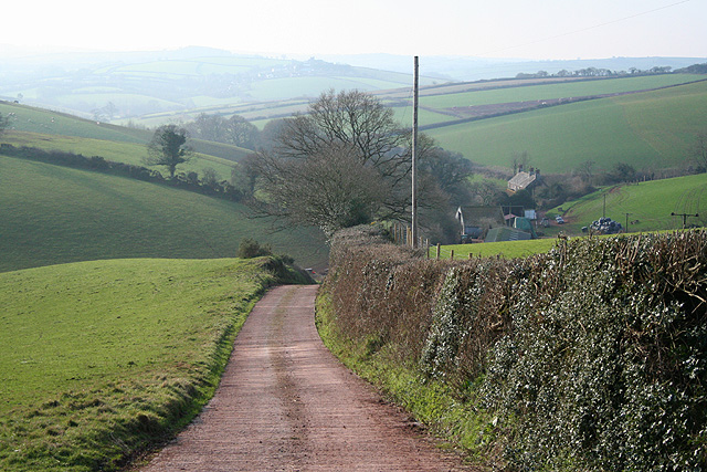 Colebrooke: towards Southcoombe