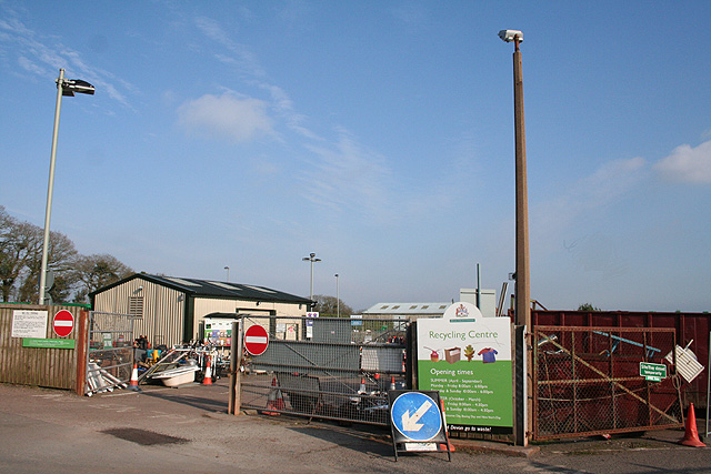 Crediton Hamlets: Recycling Centre