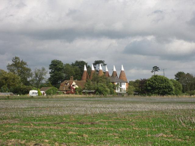 Bishops Oast, Bishops Lane, Hunton, Kent