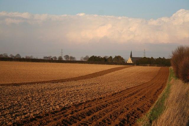 Temple Bruer farmland