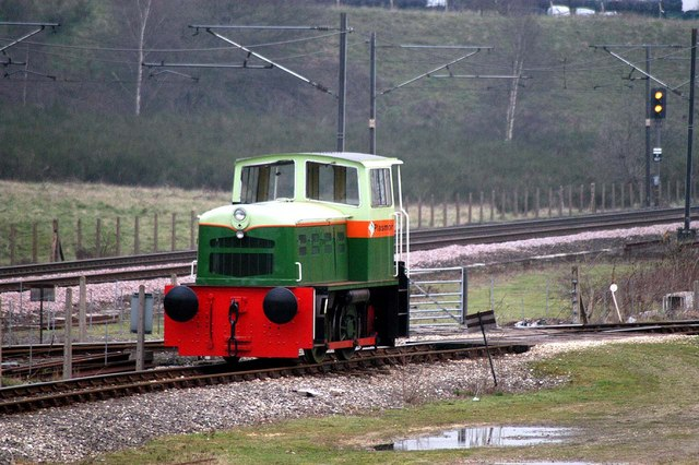 Industrial Shunter at Little Heck