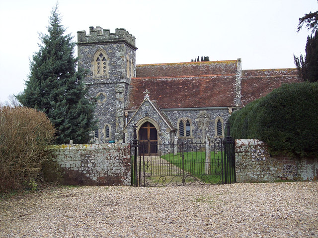 St Andrew's Church, Nunton