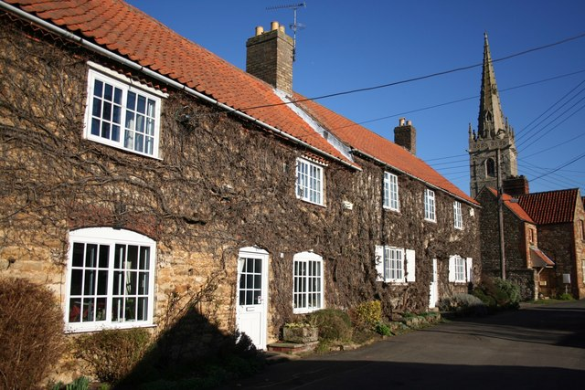 Cottages on Church Lane
