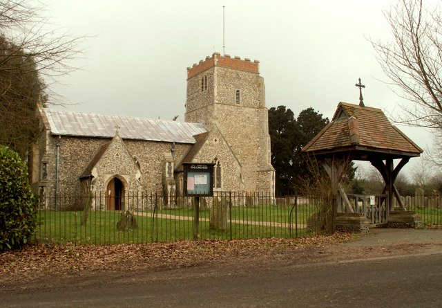 St. Mary's church at Dallinghoo