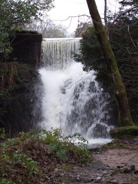 Waterfall at Finlaystone