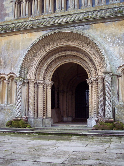 Doorway to St Mary and St Nicholas Church