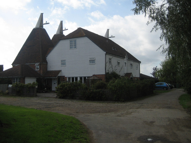 Oast House at New Lodge Farm, Hunton Road, Chainhurst, Kent