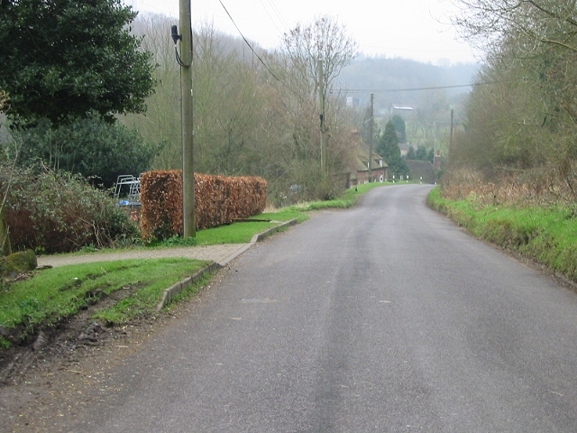 Looking S towards Wheelbarrow Town