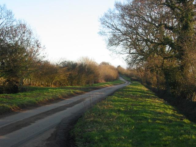 Lane near Pennyflats Farm