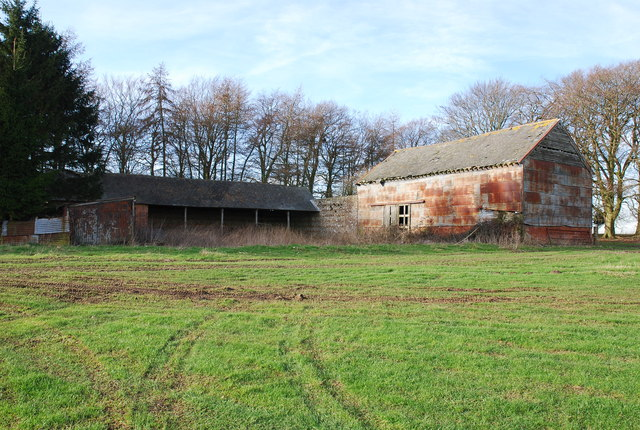 Barn by the Ox Drove