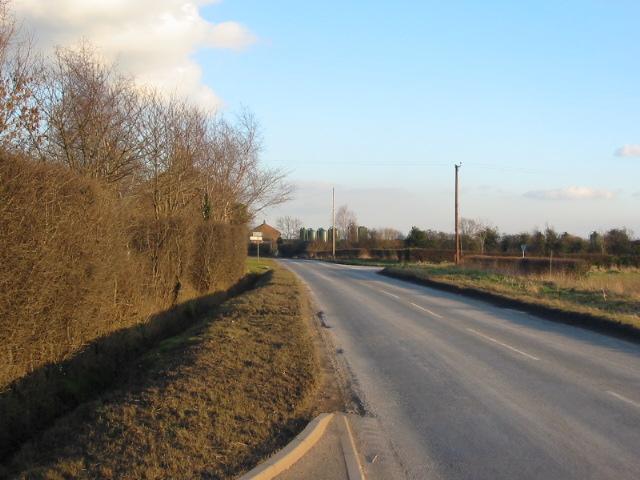 Road junction between Easingwold and Stillington