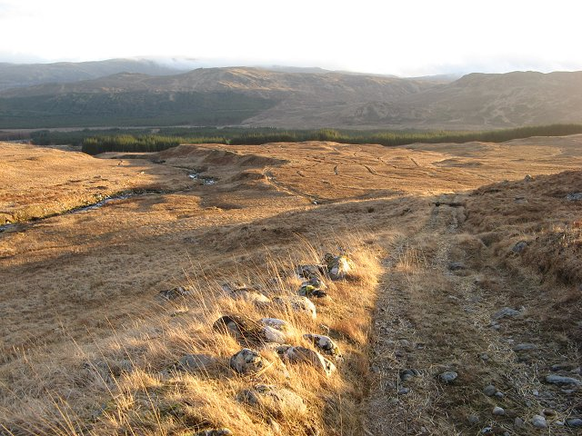 Pony track, Allt Ghabhar