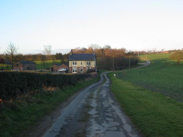 Downhill to Crayke Lodge