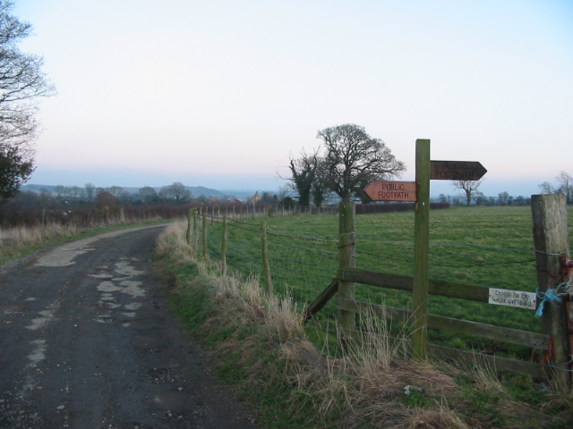 Two footpaths from hundreds that cross the Howardian Hills AONB
