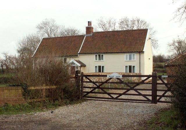Farmhouse at Valley Farm
