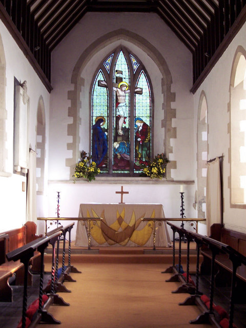 Chancel in the Church of St Margaret of Antioch
