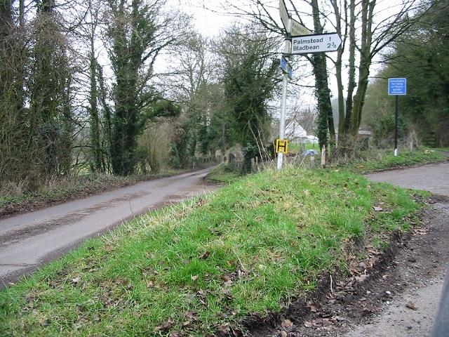 Junction on Pett Bottom Road