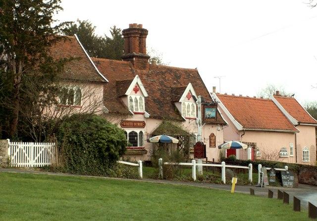 'The Easton White Horse' inn