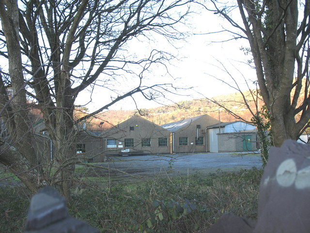 Former RAF buildings now part of the DMM factory