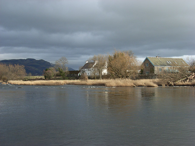 Old Mills Farm and the River Forth
