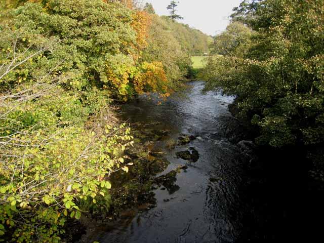 River Stinchar from Pinmore Bridge