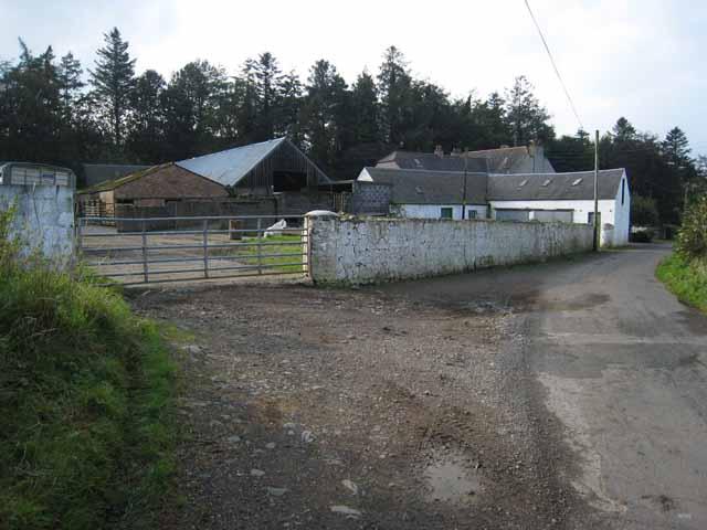 Balligmorrie in the Stinchar valley