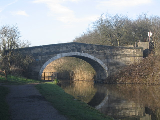 Bridge over the Leeds and Liverpool Canal
