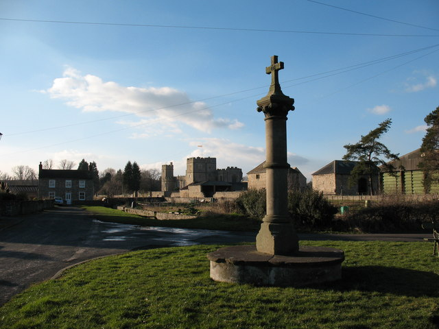 Cross and Castle at Snape