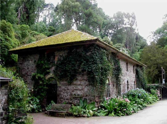 Old Mill, Bodnant Garden