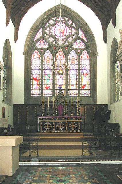 St Peter & St Paul, Wantage, Berks - Chancel